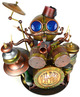 Gilded_lilies_drummer-doktor_a-mixed_media-trampt-59329t