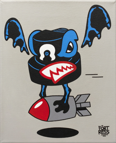 Fat_cap_vampire_bat_series_bomb-flying_frtress-acrylic-trampt-61211m