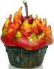 Fire Cupcake