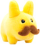 PLUSH STACHE LABBIT Yellow