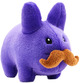 Plush Stache Labbit Purple