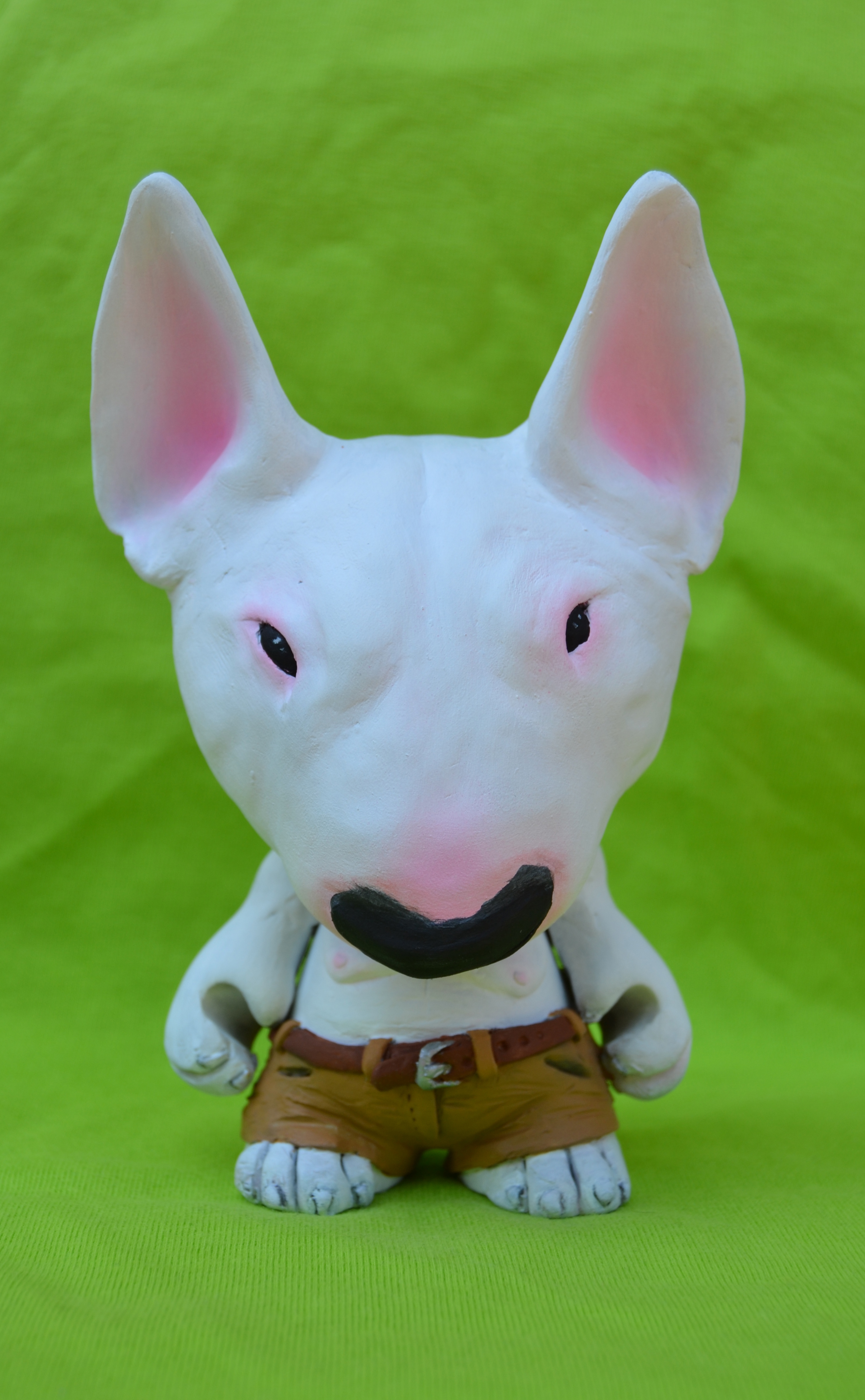 Aron - the bull terrier Trikky by mone86 | Trampt Library