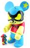 """Phantom Thief Bear Qee 8"""" - Blue"""