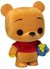 Flocked Winnie The Pooh