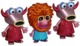 3 pack of Metallic Muppets – Mahna Mahna