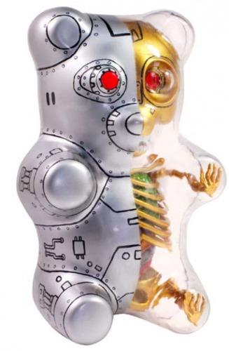 Gummi Bear Anatomy Puzzle Toy Terminator Gummi B Trampt Library