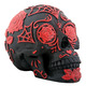 Tattoo Sugar Skull - Red and Black