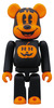 BABBI ♥ 100% Be@rbrick - Halloween (Mickey Mouse - Orange)