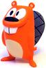 Get Lucky Beaver (Orange)