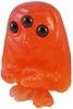 the scowl - orange glitter