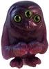 the scowl - dark purple glitter