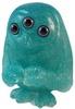 the scowl - aqua glitter