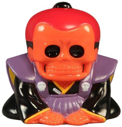 Honesuke_-_orange_red__purple-realxhead_mori_katsura_skulltoys-honesuke-realxhead-trampt-70417m