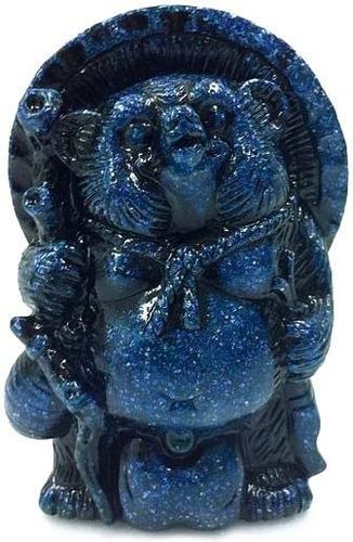 Mini_tanuki_-_blue_glitter-realxhead_mori_katsura-mini_tanuki-realxhead-trampt-70603m