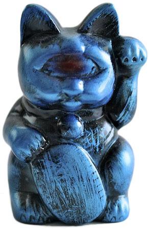 Mini_fortune_cat_-_blue_rub-realxhead_mori_katsura-fortune_cat-realxhead-trampt-72109m