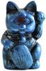 Mini Fortune Cat - Blue Rub