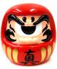 Fortune Daruma - Red/Gold