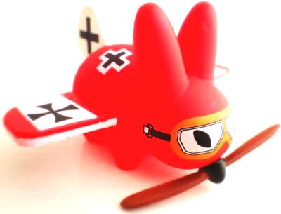 Red_baron_plane_labbit-frank_kozik-smorkin_labbit-kidrobot-trampt-73711m