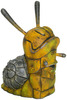 Smiley Yellow Iron Snail
