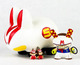 Speed Racer dunny/labbit set