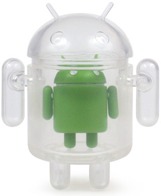 Clear-google-android-dyzplastic-trampt-75456m