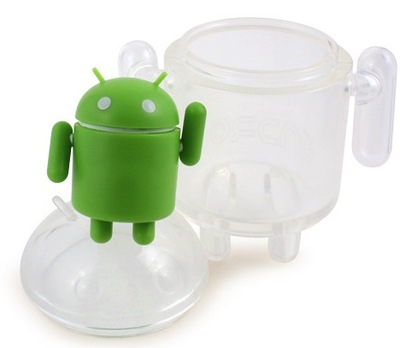 Clear-google-android-dyzplastic-trampt-75457m