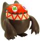 Boo - Chocolate brown (orange version)