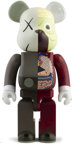 Dissected_berbricks_brown_-_100__400_set-kaws-berbrick-medicom_toy-trampt-76174m