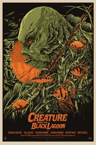Creature_from_the_black_lagoon-ken_taylor-screenprint-trampt-78753m