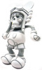 Deathshead Mickey - White