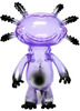 Wooper Looper - Clear Purple w/ Black