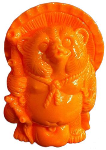 Mini_tanuki_-_unpainted_orange-realxhead_mori_katsura-mini_tanuki-realxhead-trampt-79408m