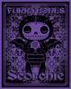 Furrybones Scorchie Purple