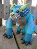 blue foo dog