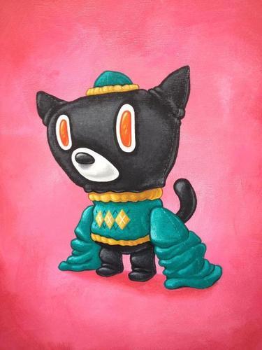 Mao_cat_dilemma-scott_tolleson-acrylic-trampt-81190m