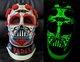 Glow in the dark Dia De Los Muertos Darth Vader Helmet