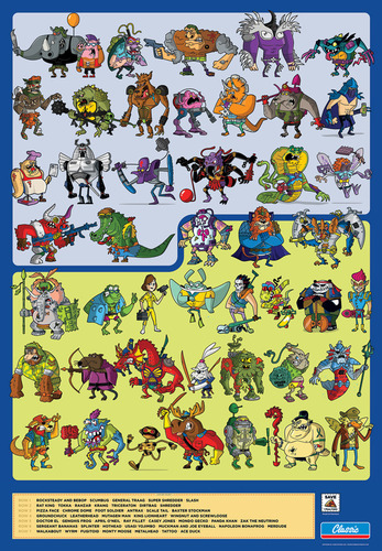 Tmnt_action_figure_compendium-christopher_lee-gicle_digital_print-trampt-81447m