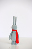 PETIT LAPIN - GREY FLOCKED