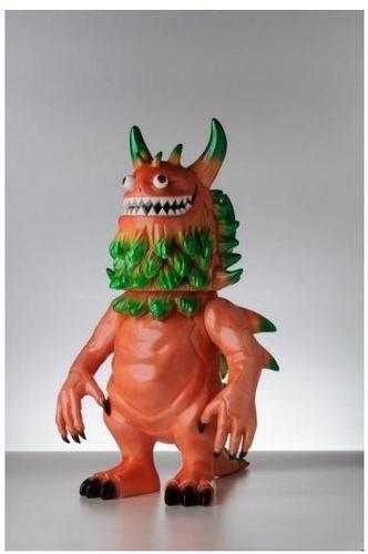 Rangeas_-_lifesize_pinkgreen_colorway-t9g_toy_art_gallery-fiberglass-trampt-82204m