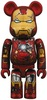 Iron Man Mark VII Damage Be@rbrick
