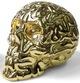 Skullbrain - Gold Plated (24k)