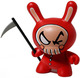 Dunny - Red Skull