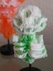 Misfortune Cat Skeleton - White/Green