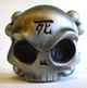 Antique Silver Skullhead #1