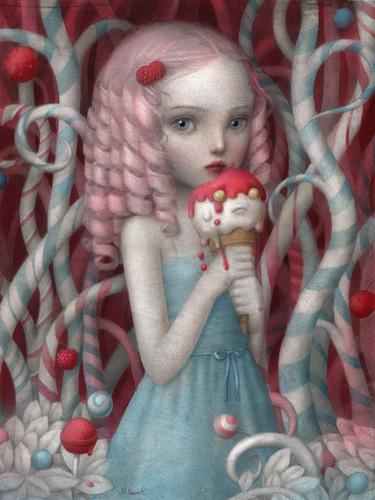 Just Like Heaven Acrylic By Nicoletta Ceccoli Trampt Library