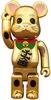 Gold Plated Maneki Neko Be@rbrick - 400%