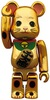 Gold Plated Maneki Neko Be@rbrick - 100%