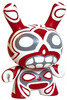 Grey Eye Totem Dunny - Red