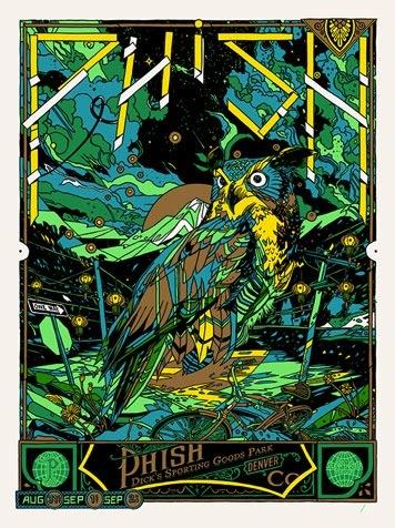Phish_-_denver_co_2012_green-tyler_stout-screenprint-trampt-87418m