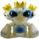 Triple Crown Monster - Blue/Glow Test Paint